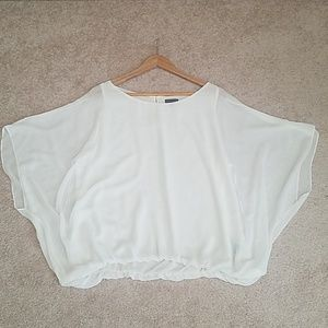 Vince Camuto Summer Batwings Blouse